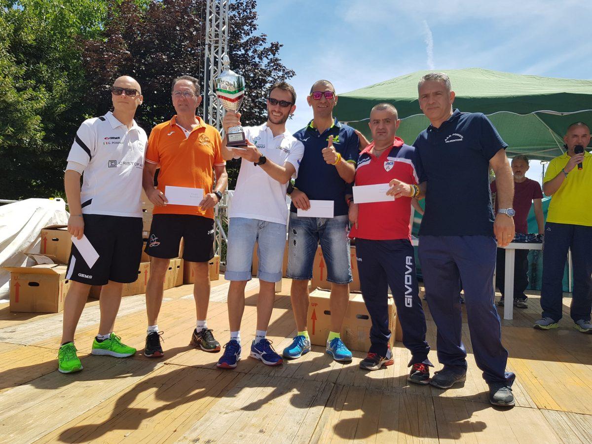 Maratonina della Lumaca 2018: secondo team classificato … grazie ragazzi!