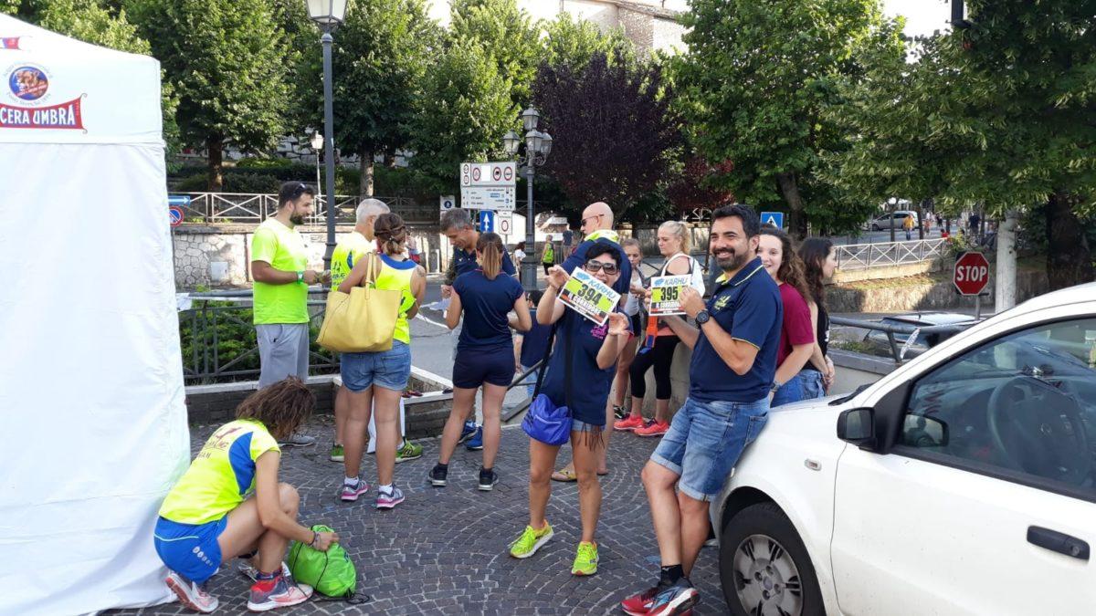 Go Running Team con il suo gazebo ad Alatri